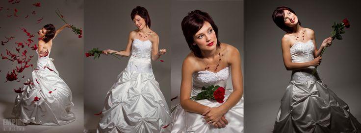 Wedding Dress - Studio shoot for Dream Bride wedding dresses