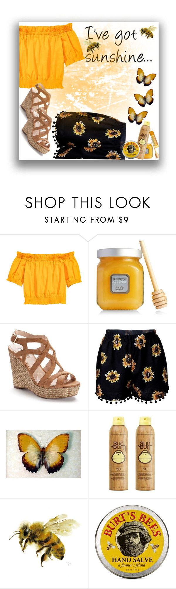"""YoU cAn'T bRiNg Me DoWn"" by smiling-sam on Polyvore featuring Laura Mercier, Jennifer Lopez, Sun Bum and Burt's Bees"