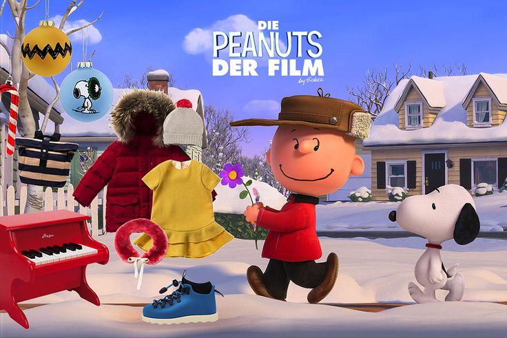 Charlie Brown und Snoopy wollen das rothaarige Mädchen besuchen ... Mehr über den neuen 3D-Animationsfilm von Steve Martino auf MILAN Magazine: http://www.milan-magazine.de/die-peanuts-kleine-helden-in-3d/  #diepeanuts #charlesmschulz #stevemartino #peanutsfilm #peanutsmovie #peanutsgang #snoopy #charliebrown #weihnachten
