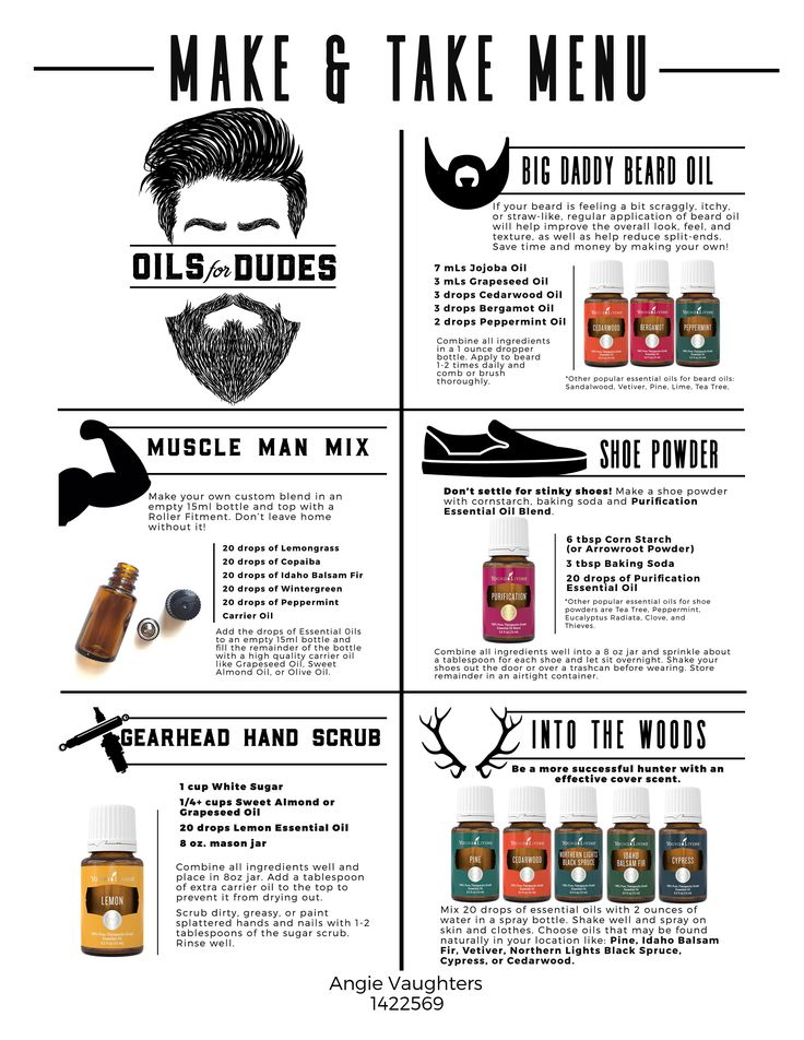 Essential Oils for Men!  |   The Well-Oiled Life | Using Young Living Essential Oils in Everyday Life