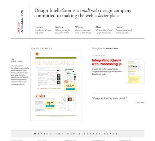 100+ Clean, Simple and Minimalist Website Designs