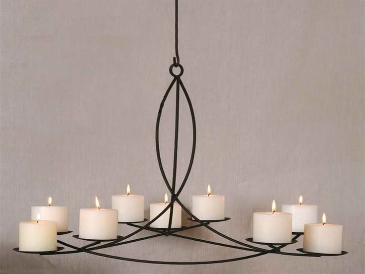 Hanging Candle Chandelier - Ideas For Hanging A Candle Chandelier with  regular design