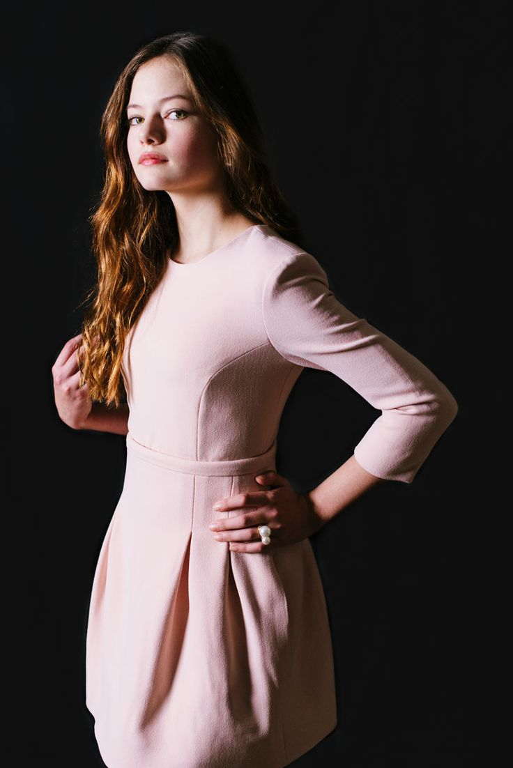 Lovely blush colored dress with a sweet style. Dress rehearsal dinner outfit.