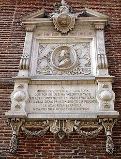 Se cree que esta es la tumba de Miguel de Cervantes en Madrid que lleva desaparecida desde el Siglo XVII