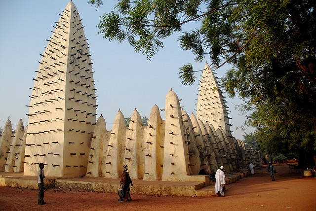 Old mosque in Bobo-Dioulasso, Burkina Faso