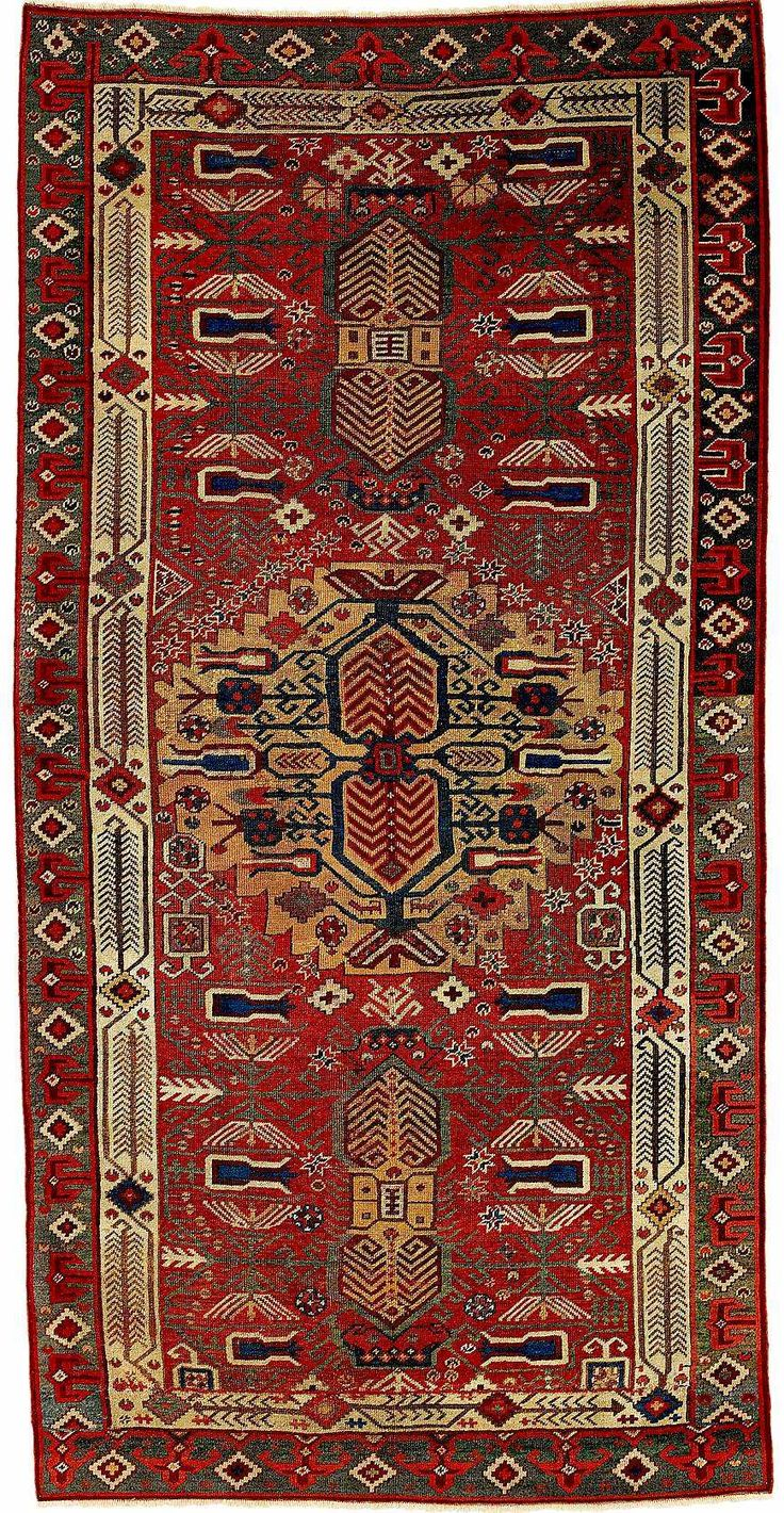 Oriental Carpets Turkish Rugs Karapinar Carpet Fragment 17th Century