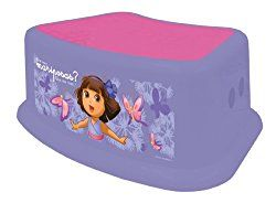 Nickelodeon Dora The Explorer Step Stool, Purple