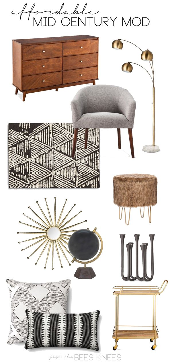 just the bee's knees: Fab Finds ~ Affordable Mid Century Mod