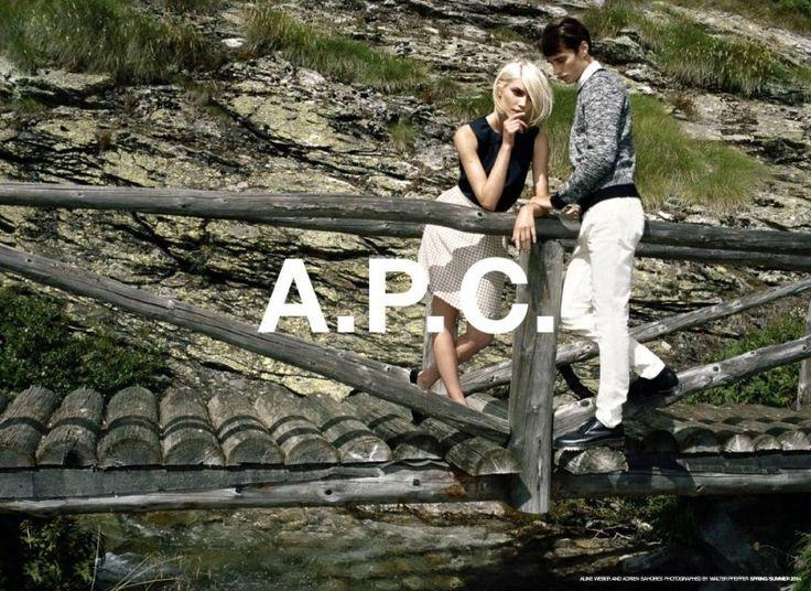 Adrien Sahores for A.P.C. Spring/Summer 2014 Campaign