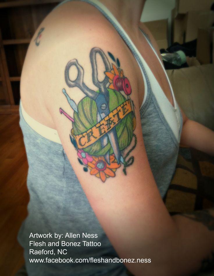 crafting tattoos | my crochet tattoo | Craft: Miscellaneous