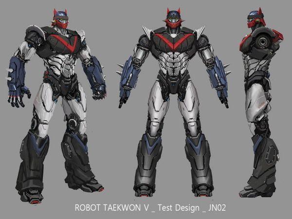 Test Design of Taekwon V by Zoshnizzi