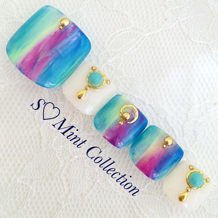 These are pretty! | Toe nail art design