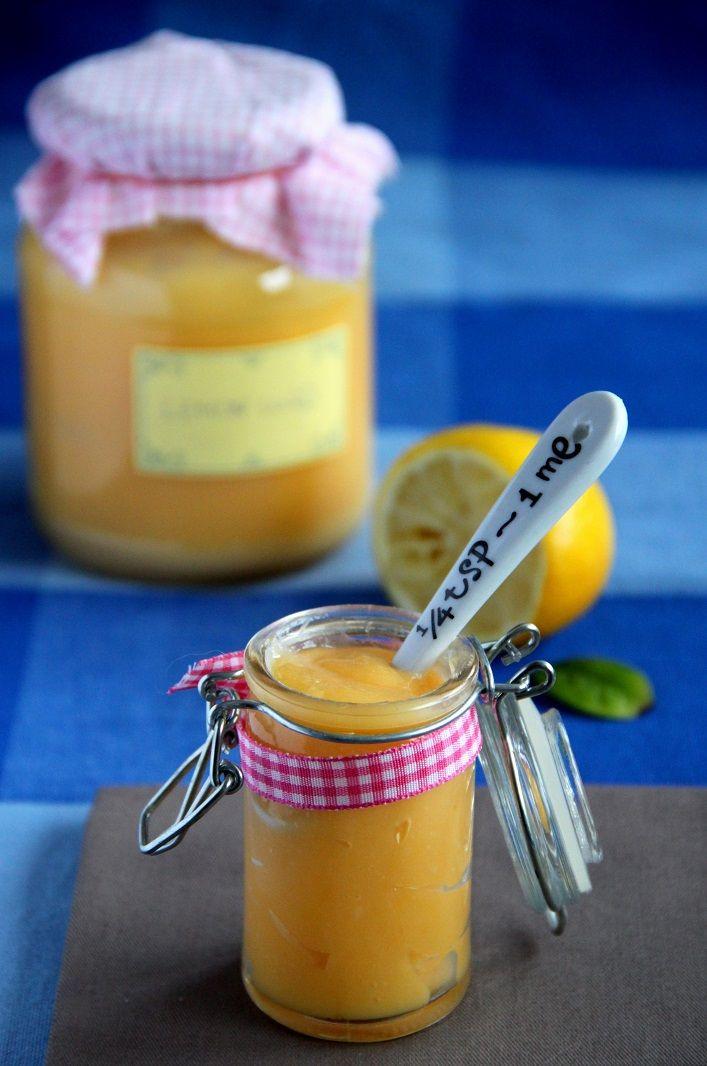 Krem cytrynowy czyli lemon curd
