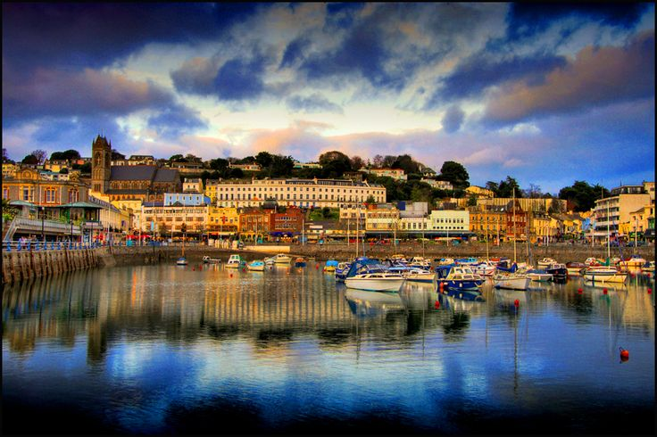 Torquay, Devon, England ~ Love to stay here with a view of the harbour!