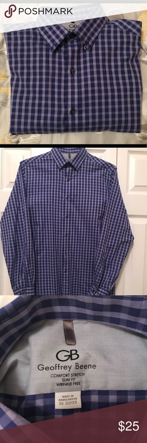 Geoffrey Beene Slim Fit Button Down Geoffrey Beene Slim Fit Button Down. Like New. Geoffrey Beene Shirts Casual Button Down Shirts