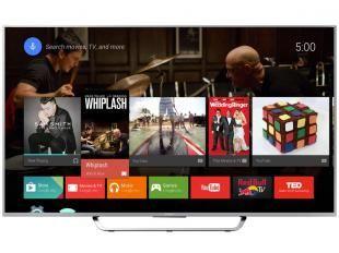 "Smart TV LED 3D 75"" Sony XBR-75X855C Ultra HD 4K - 4 HDMI 3 USB Wi-Fi 1 Óculos"