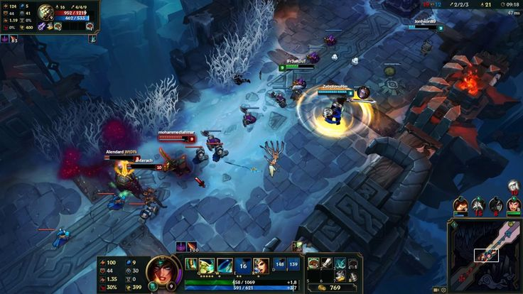 League of Legends - 5v5 Aram - Sivir Gameplay