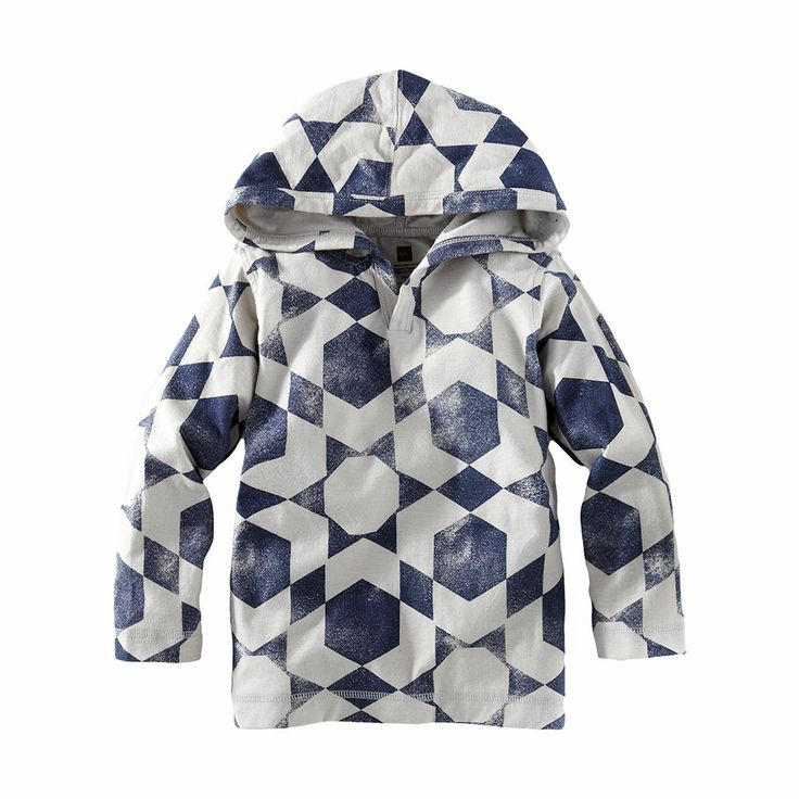 Boys Pullover Hoodie & Patterned Hoodie | Tea Collection