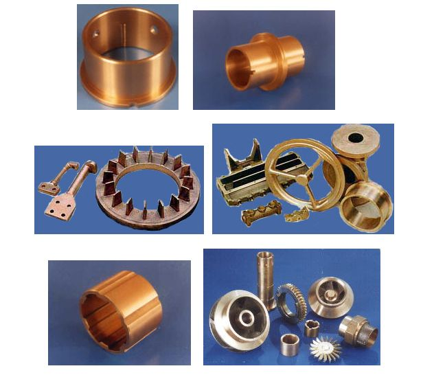 Copper castings casting coppercastings