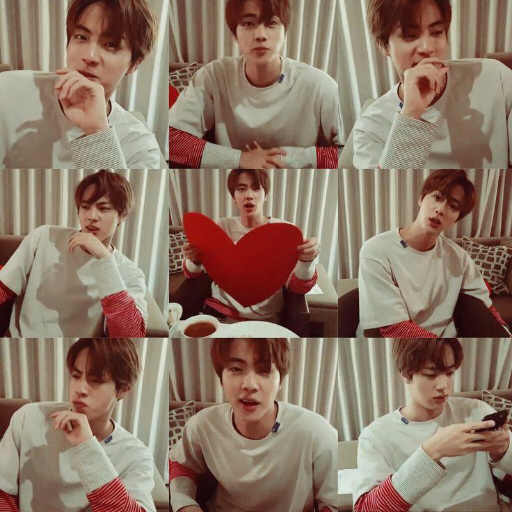 잇진 하트 4 U ❤ #BTS #방탄소년단//I love eat Jin videos so much for no good reason