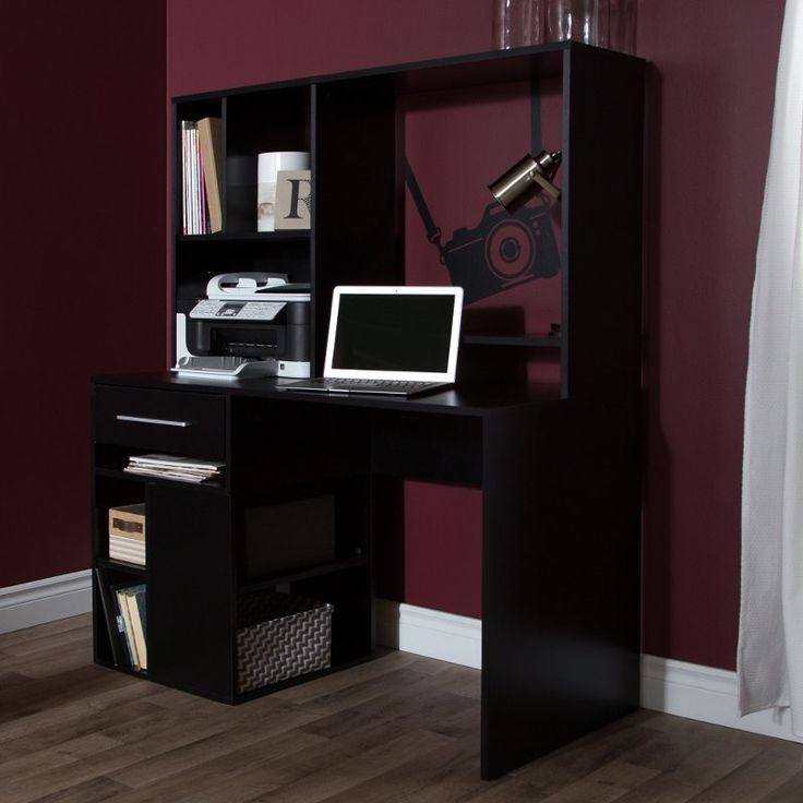 Black Home Office Computer Desk - Annexe In 2020