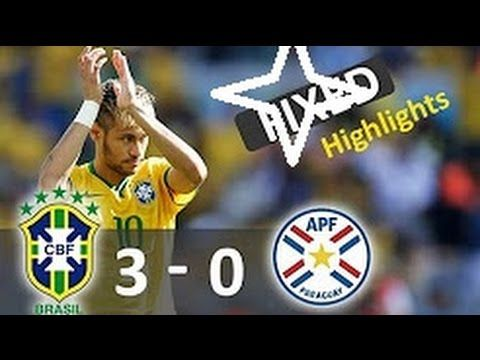 Brazil vs Paraguay 3-0 - All Goals & Highlights - World Cup 2018  QUALIFIAR