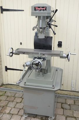 front view Myford VMC milling machine for sale