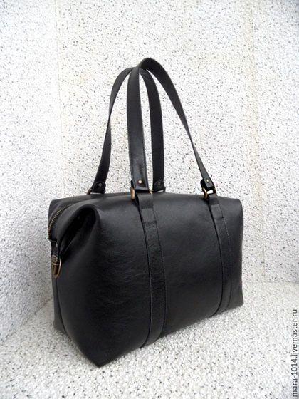 Женские сумки ручной работы. СИТИ в деталях, большая кожаная сумка, на подкладке из замши. Мария. Интернет-магазин Ярмарка Мастеров.