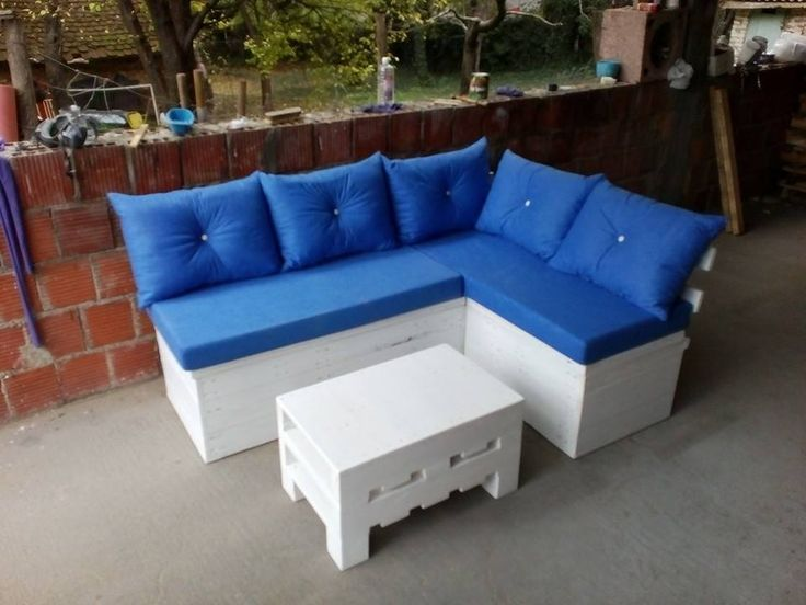 It has storage in the bench too. Don't like the back of it, I would do it a little different =