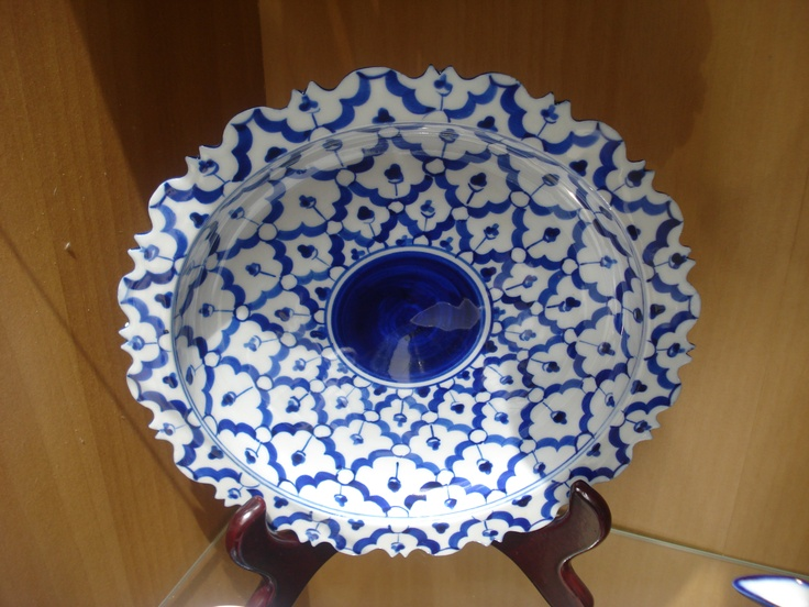 Thai blue ceramics