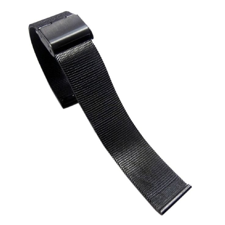 >> Click to Buy << Stylish Stainless Steel Watch Band 24mm Watch Strap Black #Affiliate