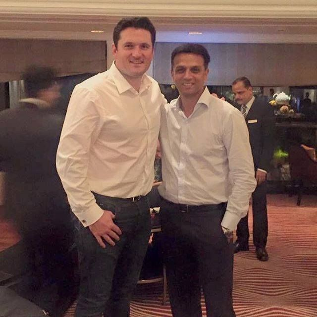 The Two Former Legends Of The Game Rahul Dravid & Graeme Smith - http://ift.tt/1ZZ3e4d