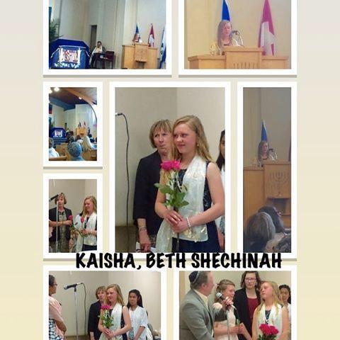 Bat Mitzvah, Beth Shechinah, 13.15.17