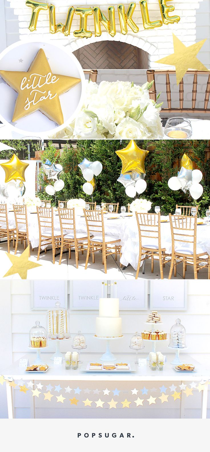 Hosting a baby shower and need some food ideas look no further since - This Twinkle Twinkle Baby Shower Is The Sweetest Way To Celebrate Mama And Baby