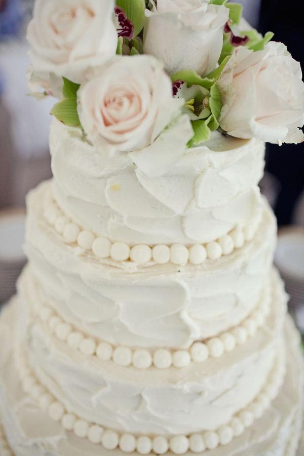 the anti-fondant cake :) yummy.