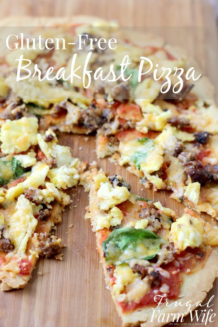 This gluten-free breakfast pizza is the best thing to ever happen to breakfast! The sauce has just the right amount of tangy salsa, and the kids devoured it!