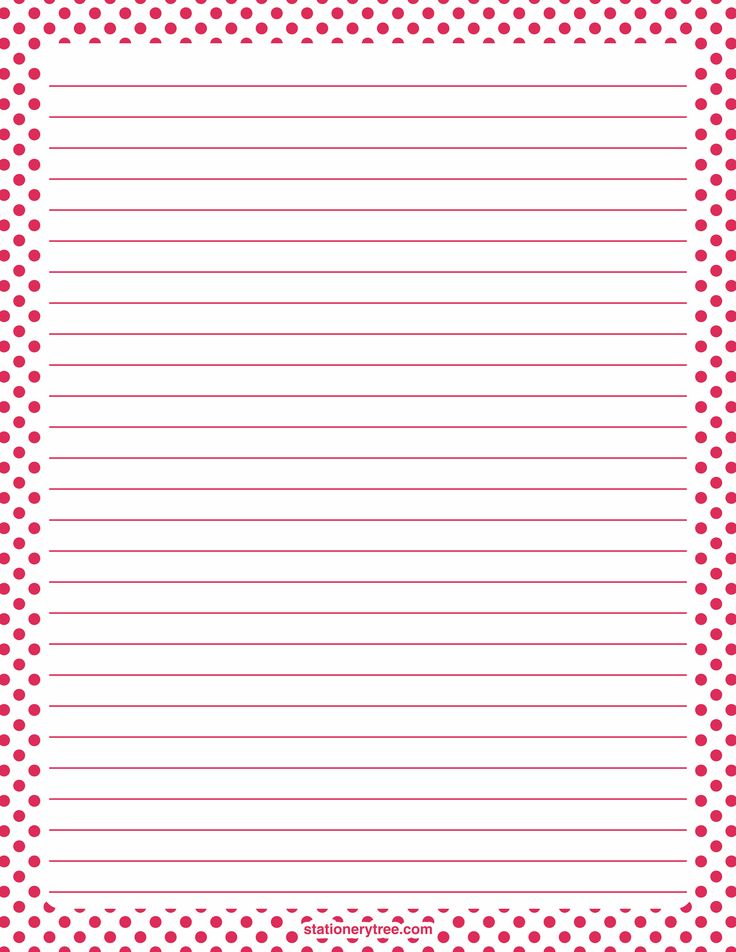 Printable Lined Paper Sample Printable Lined Paper Examples In Pdf