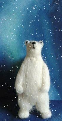 oso polar de vellón