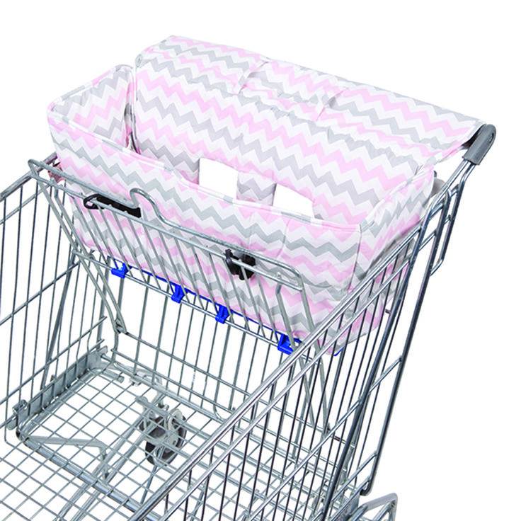 Bambella Designs-Trolley Liner {Chevron Pink}