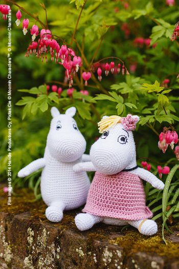 Moomin and Snorkmaiden by Irene Strange | Inside Crochet Magazine | Blog | Inside Crochet