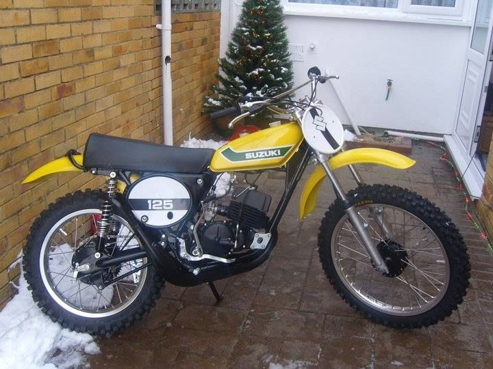 1973- suzuki tm125 | vintage dirt | pinterest | motocross, dirt