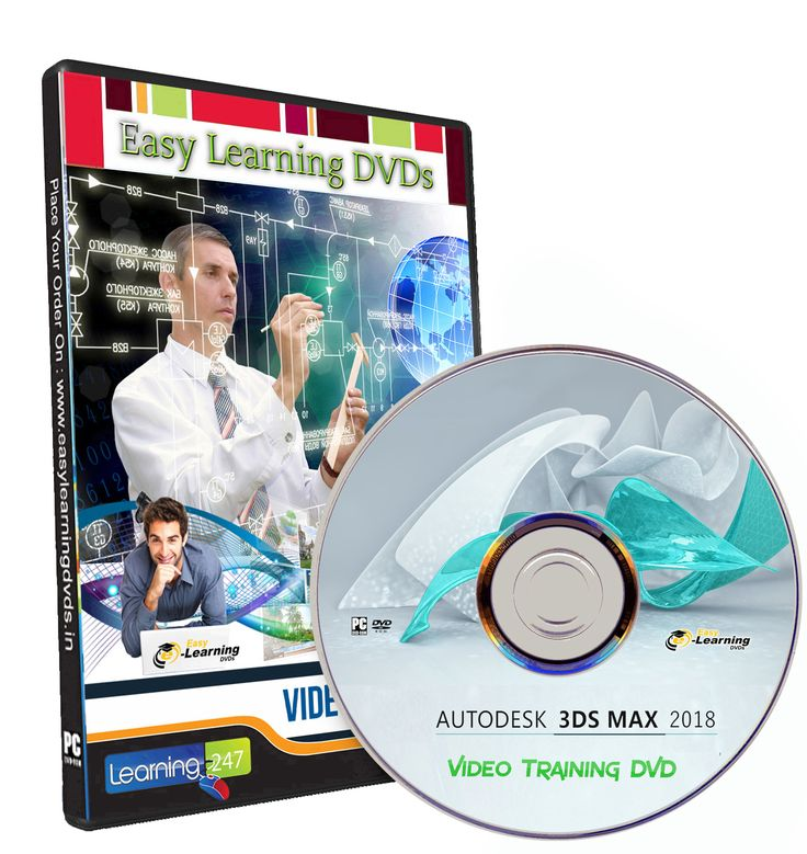 Learn 3ds max 2018 Video Training Tutorial DVD