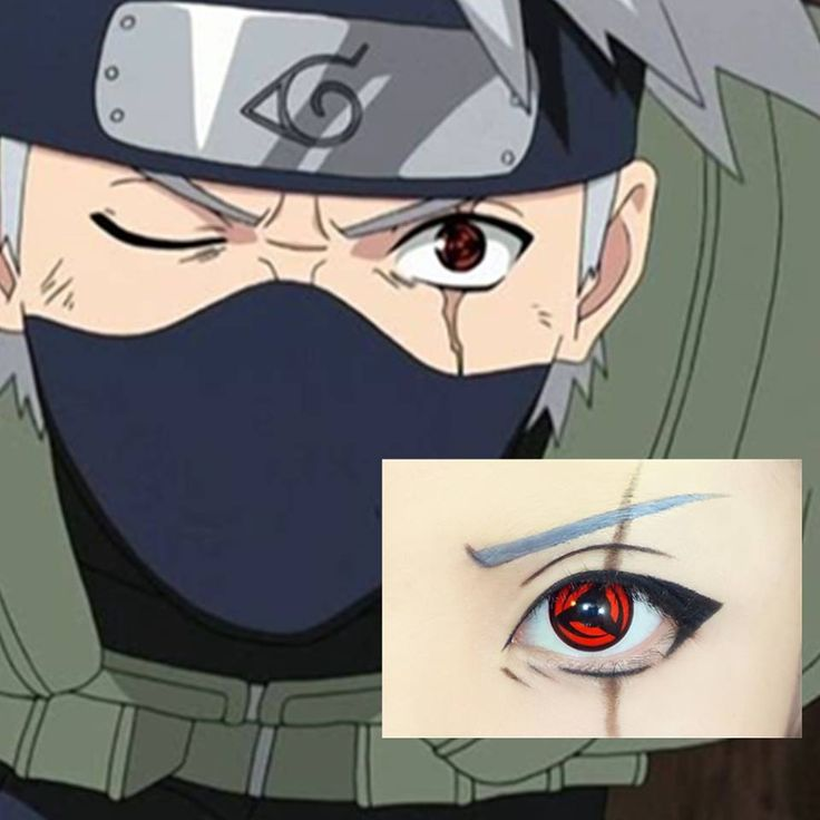 Kakashi from Naruto - 19 Anime Make Up Tutorials to Change How You Cosplay Forever