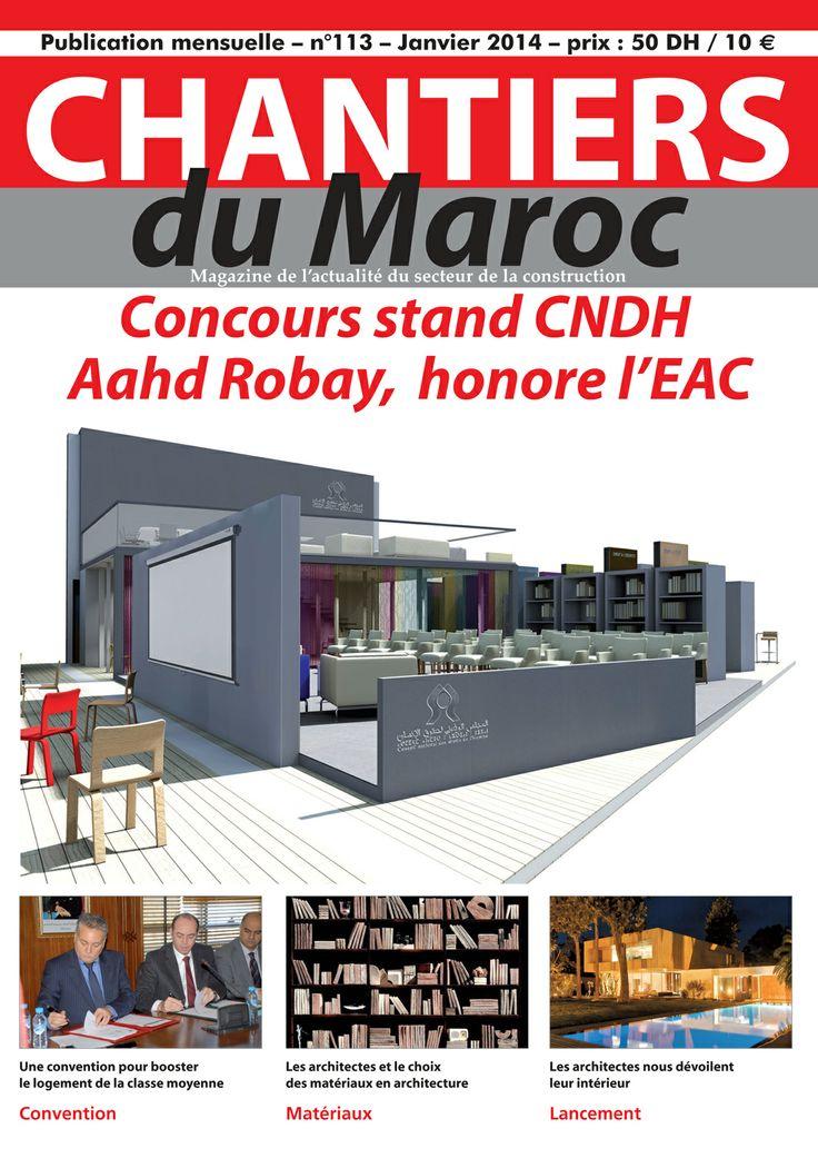 Chantiers du Maroc, Magazine de l'actualité du secteur de la construction au Maroc
