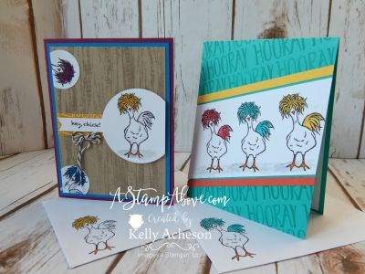 Stampin' Up! Hey, Chick - Sale-A-Bration Sneak Peek - Kelly Acheson
