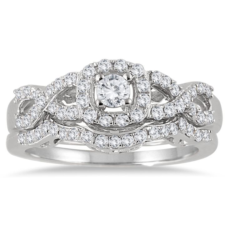32 best rings images on Pinterest White gold Diamond rings and