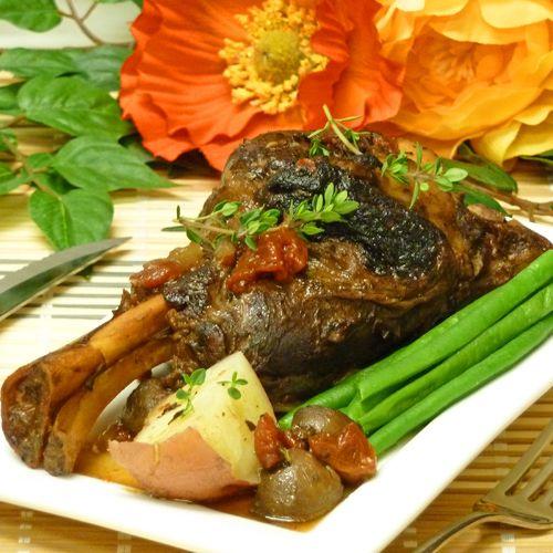Crockpot Lamb Shanks Recipe