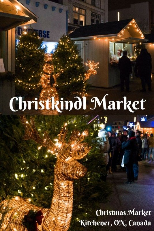 Holiday Cheer at the Christkindl Market - Kitchener Christmas Market