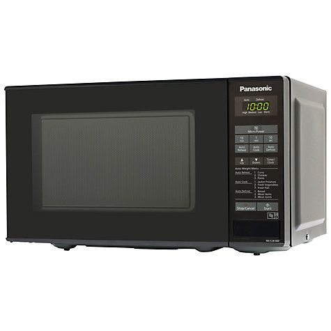 Buy Panasonic NN-E281B Microwave Oven, Black Online at johnlewis.com My microwave have had enough of christmas cooking and decided to take strike action!