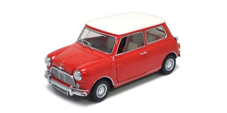 1:18 MORRIS MINI COOPER S MK1 1275S RED